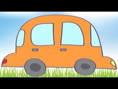 Dibujos de transportes para ni os c mo dibujar un coche for Coches para bebes