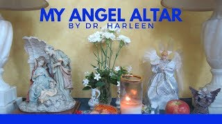 Angel Therapy || How to connect with guardian angels || Angel Altar