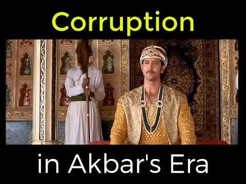 #Corruption in Akbar's Era