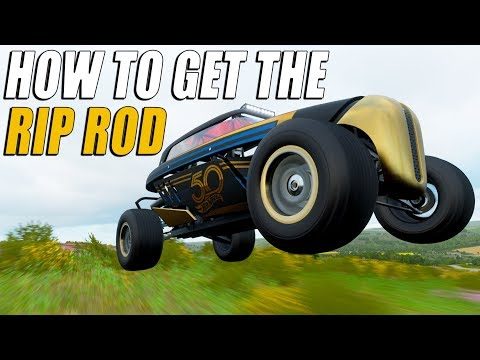 HOW TO GET THE NEW RIP ROD IN FORZA HORIZON 4 thumbnail