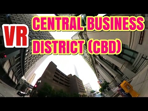 VR - Central Business District (CBD)