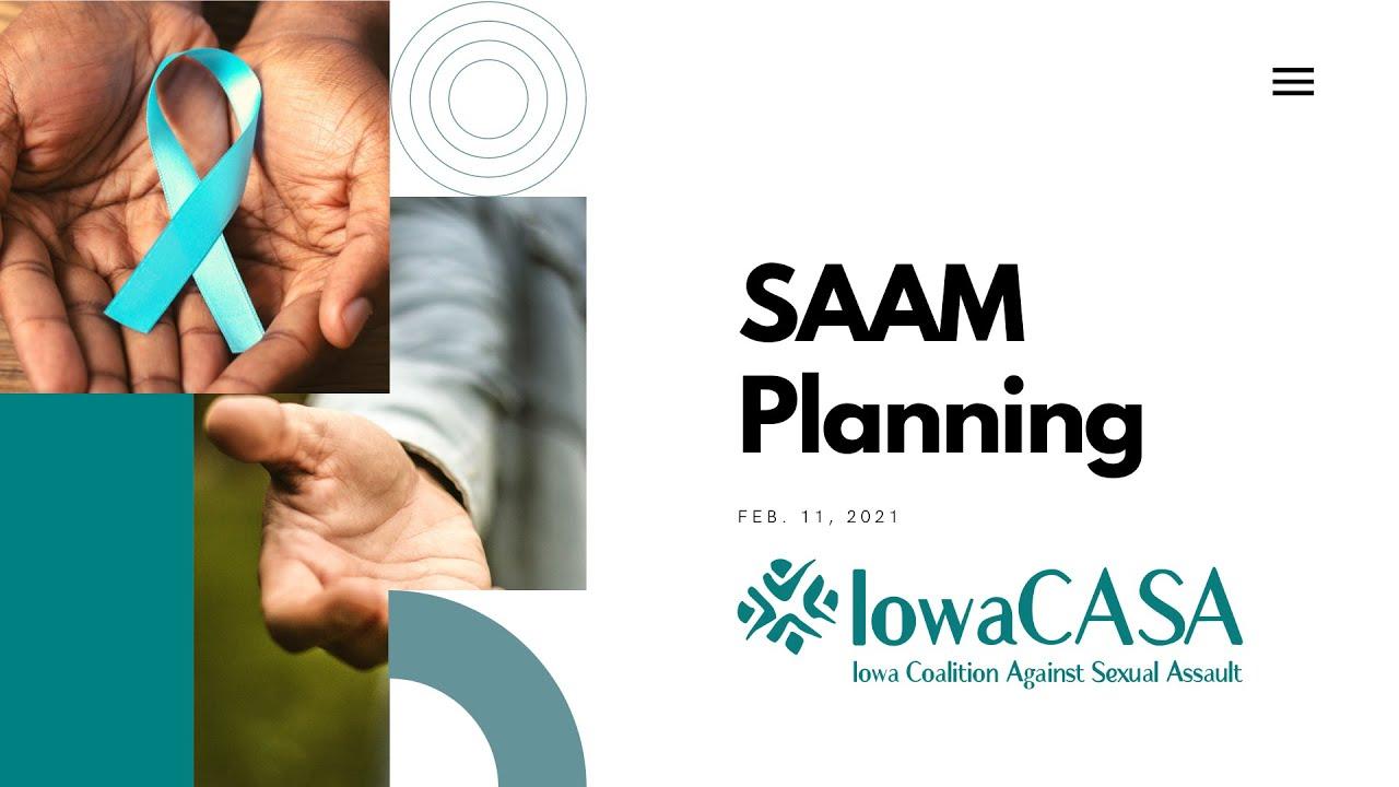 Sexual Assault Awareness & Prevention Month Planning