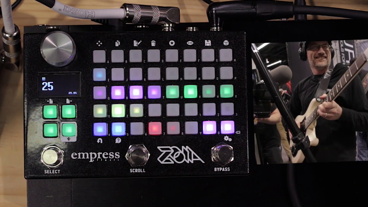 NEW Empress Zoia Multithing Modular Synth /& Multi-Effects Pedal IN STOCK!