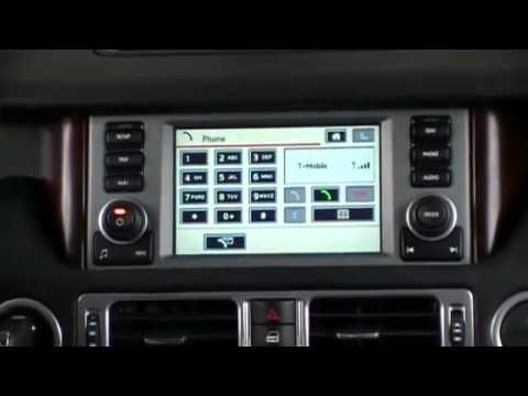 Range Rover, mObridge bluetooth tutorial on steering wheel controls and instrument cluster display