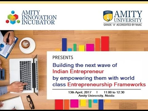 Amity Innovation Incubator - Webinar Series