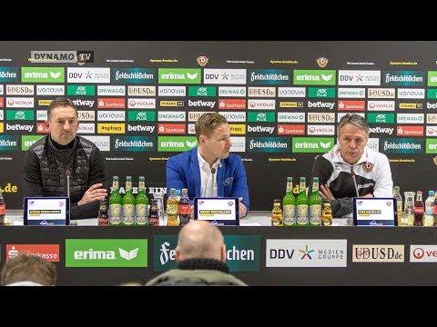 23. Spieltag   SGD - SSV   Pressekonferenz nach dem Spiel