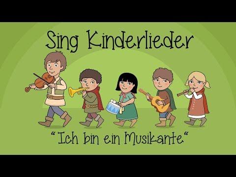 Ich bin ein Musikante - Kinderlieder zum Mitsingen   Sing Kinderlieder