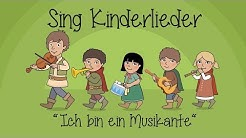 Ich bin ein Musikante - Kinderlieder zum Mitsingen | Sing Kinderlieder