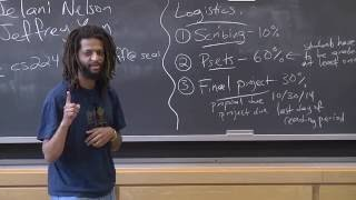 Advanced Algorithms (COMPSCI 224), Lecture 1