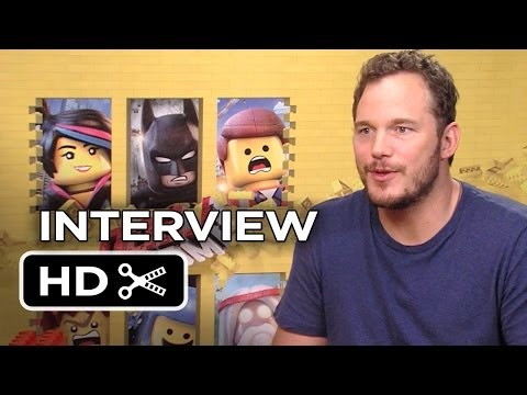 The Lego Movie Interview - Chris Pratt (2014) - Animated Movie HD