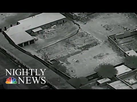 U.S. Airstrikes Target Drug Labs In Afghanistan   NBC Nightly News