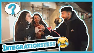 INTEGRATIONSTEST IN BREMEN - (LACHFLASH PUR) 😂 ! | by HAZUNAS (Street Comedy Umfrage 2020)