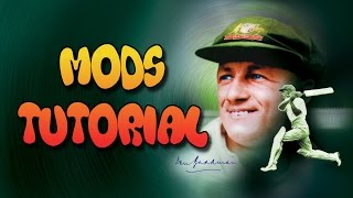 Don Bradman Cricket 14 Mods Tutorial [HOW TO INSTALL]