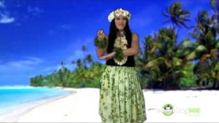 Hula Dance - Little Brown Gal (Verse 3) 森山花奈 動画 19