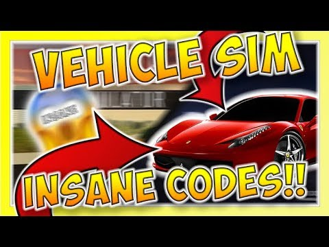 Vehicle Simulator Codes – Roblox (September 2019) – Mejoress