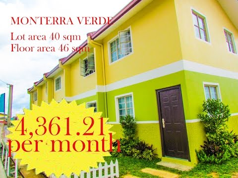 AFFORDABLE TOWNHOUSE IN TANZA CAVITE @ Monterra verde
