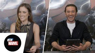 Ask Marvel: Iron Fist Cast, Jessica Stroup & Tom Pelphrey