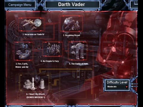 Star Wars Galactic Battlegrounds Speedrun - Darth Vader - 1 |
