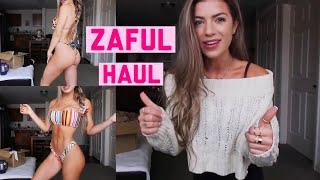 ZAFUL HAUL | Sweaters, Bikinis, & Dresses