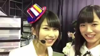 ジキソー(当日)こと横山由依はん&飯野雅で✨ 飯野雅(AKB48) 公式プロフィール ...
