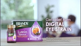 Get relief from digital eye strain with brand's® lutein essence
