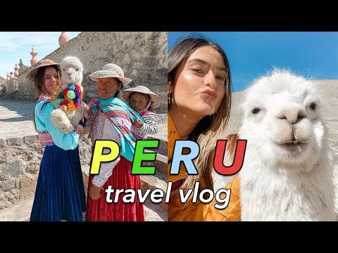 PERU TRAVEL VLOG: lima, arequipa, and colca canyon | part one
