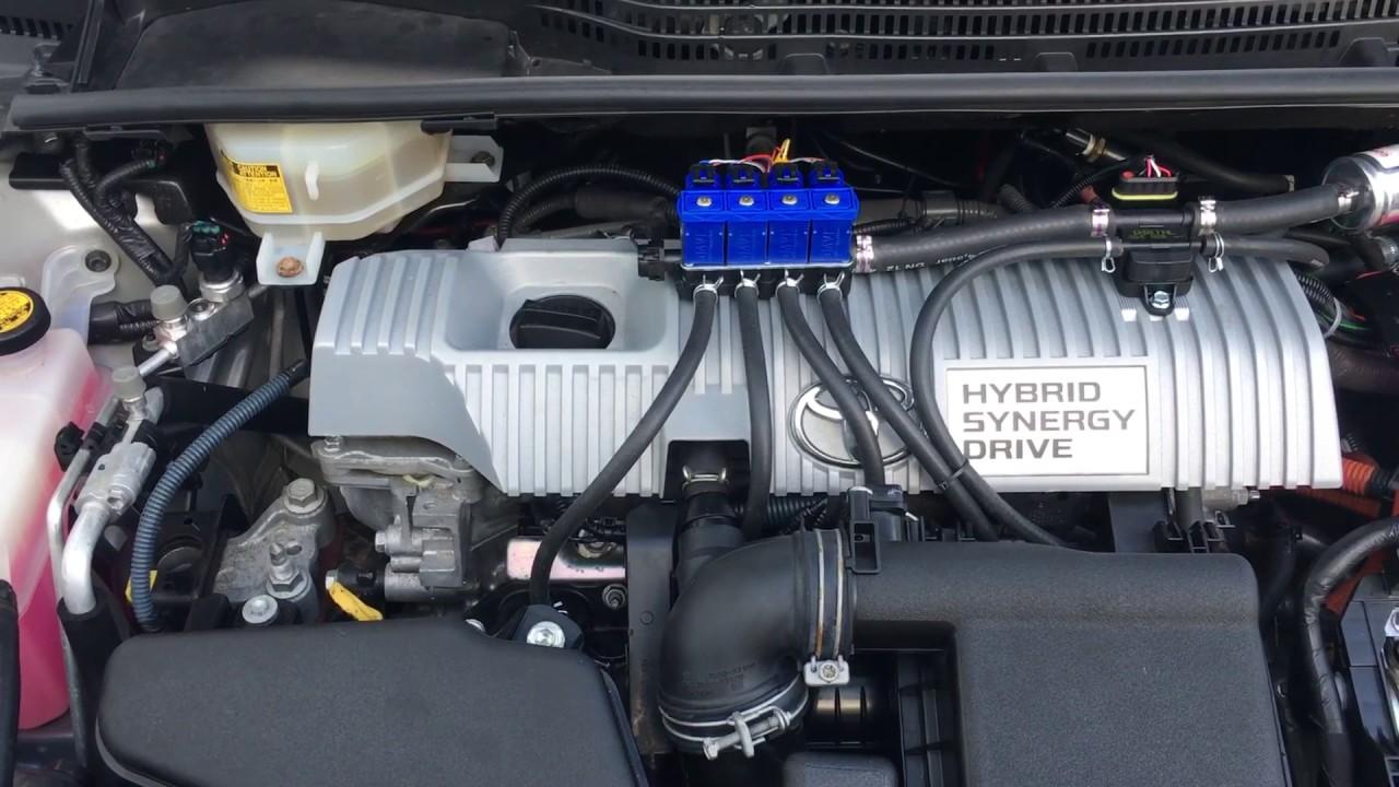 Toyota Prius Hybrid 2010 Lpg Conversion