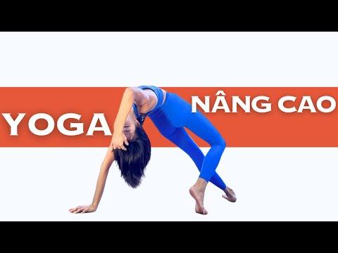 Full Buổi Tập Yoga Nâng Cao (50 Phút) Tăng Thể Lực & Độ Dẻo Dai   Luna Thái - Đào Tạo Giáo Viên Yoga