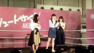 20170514 NGT48 荻野由佳・北原里英・西潟茉莉奈 気まぐれオンステージ大会
