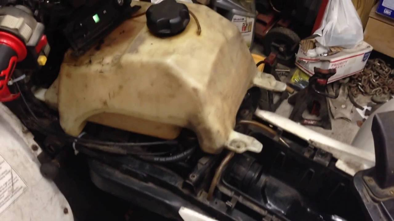 Polaris Fuel pump broke The fix! Replace fuel pump or bypass it  YouTube