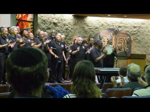 Martin Luther King Jr. Community Choir San Diego at Tifereth Israel Synagogue