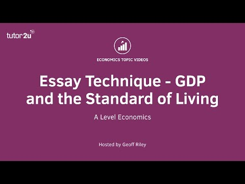 the standard of living in developing countries economics essay The pros and cons of globalization because manufacturing work is outsourced to developing nations declining wages, declining living standards and low.