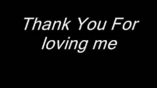 Bon Jovi Thank You For Loving Me Lyrics.mp3