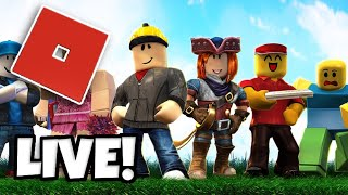 Playing ROBLOX Live with Subscribers! (MEMBERSHIPS AVAILABLE!)
