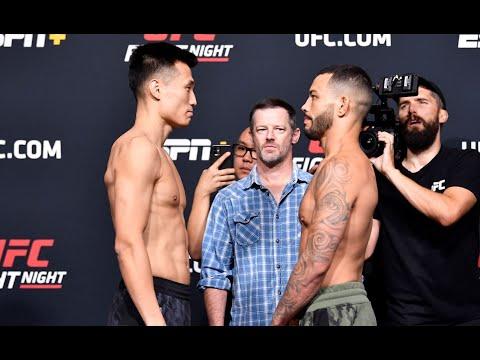 UFC Vegas 29: Weigh-in Faceoffs