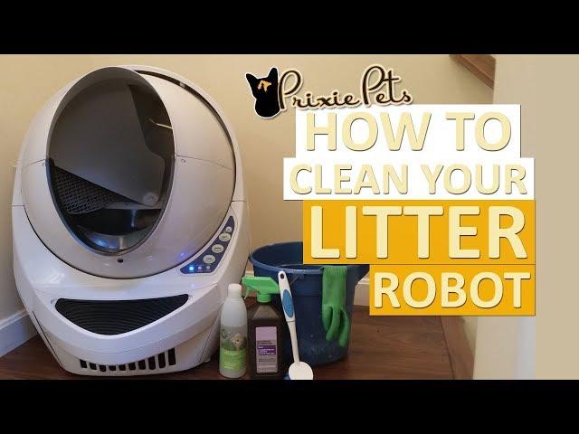 How to Clean Litter Robot Open Air