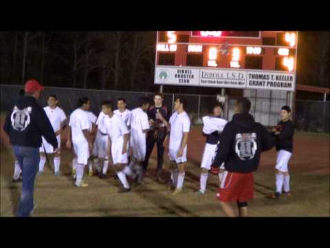 Diboll vs Hudson High School Soccer March 8, 2013