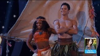 Dancing with the Stars 24 - Simone Biles & Sasha | LIVE 4-17-17
