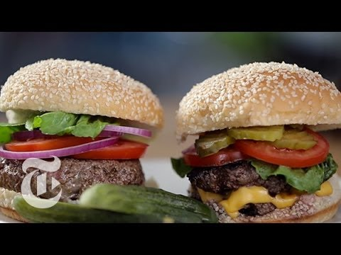 How To Make Perfect Burgers Indoors The New York Times Youtube