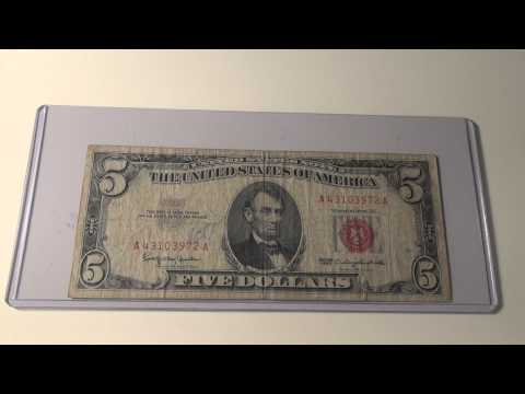 1963 $5 United States Note