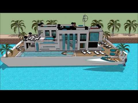 HOUSEBOAT DANISH MARITIME FAIR DENMARK COPENHAGEN INTERNATIONAL BOAT SHOW 2018 Yacht getaway retreat
