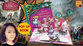 헉! 원더랜드에서 빠져나와! 이상한 나라의 앨리스 POP UP BOOK. ALICE IN WONDERLAND. KIDS ENGLISH