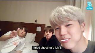 ENGSUB BTS Live  Eat Jin Jimin Jungkook