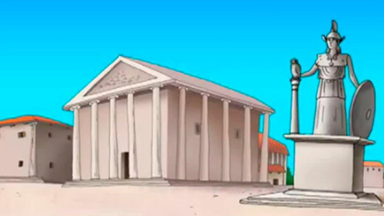 Развивающие мультфильмы История Древней Греции