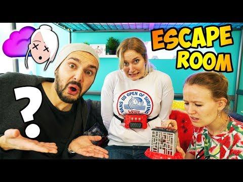 Mission Escape NINA BEFREIEN - Können Kaan & Kathi CODE KNACKEN & TIMER STOPPEN? Spiel auf Zeit