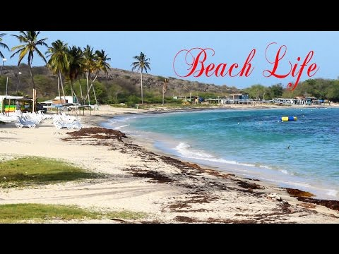 Cockleshell Beach Time Lapse @ St. Kitts (HD 1080p)