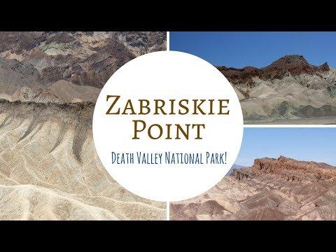Zabriskie Point ~ Death Valley National Park