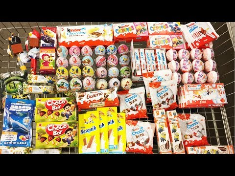 A Lot Of Candy 2018 NEW #65 Киндер...