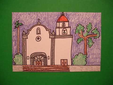 Let's Draw Mission San Juan Capistrano!