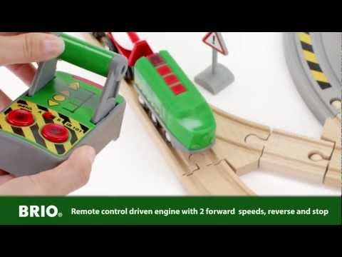 BRIO World – 33517 Battery-Powered Remote Control Train Set